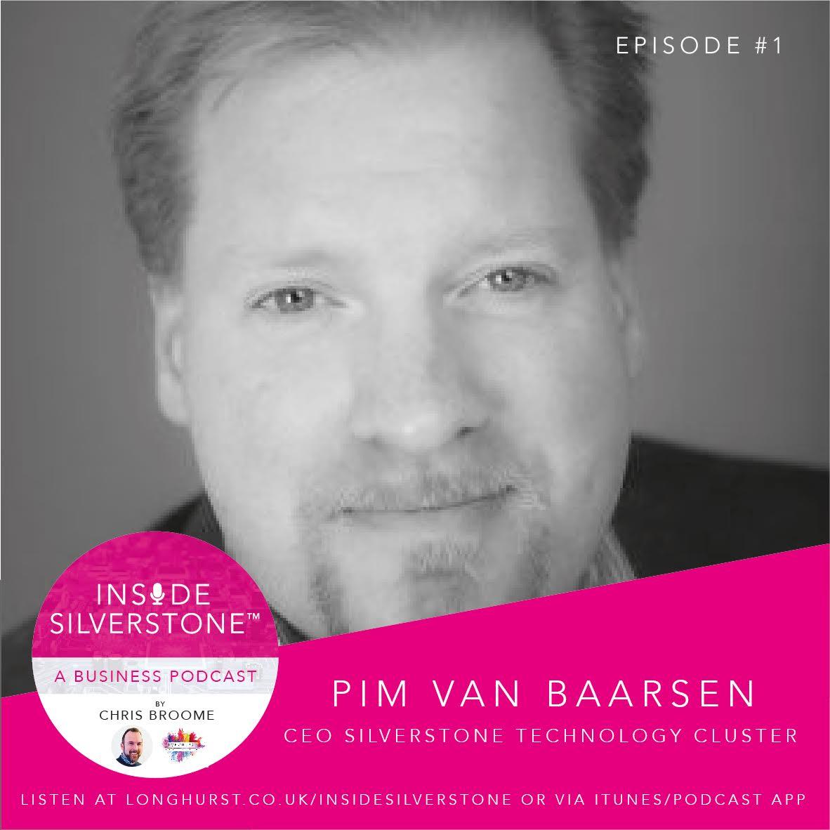 Pim van Baarsen, CEO of the Silverstone Technology Cluster