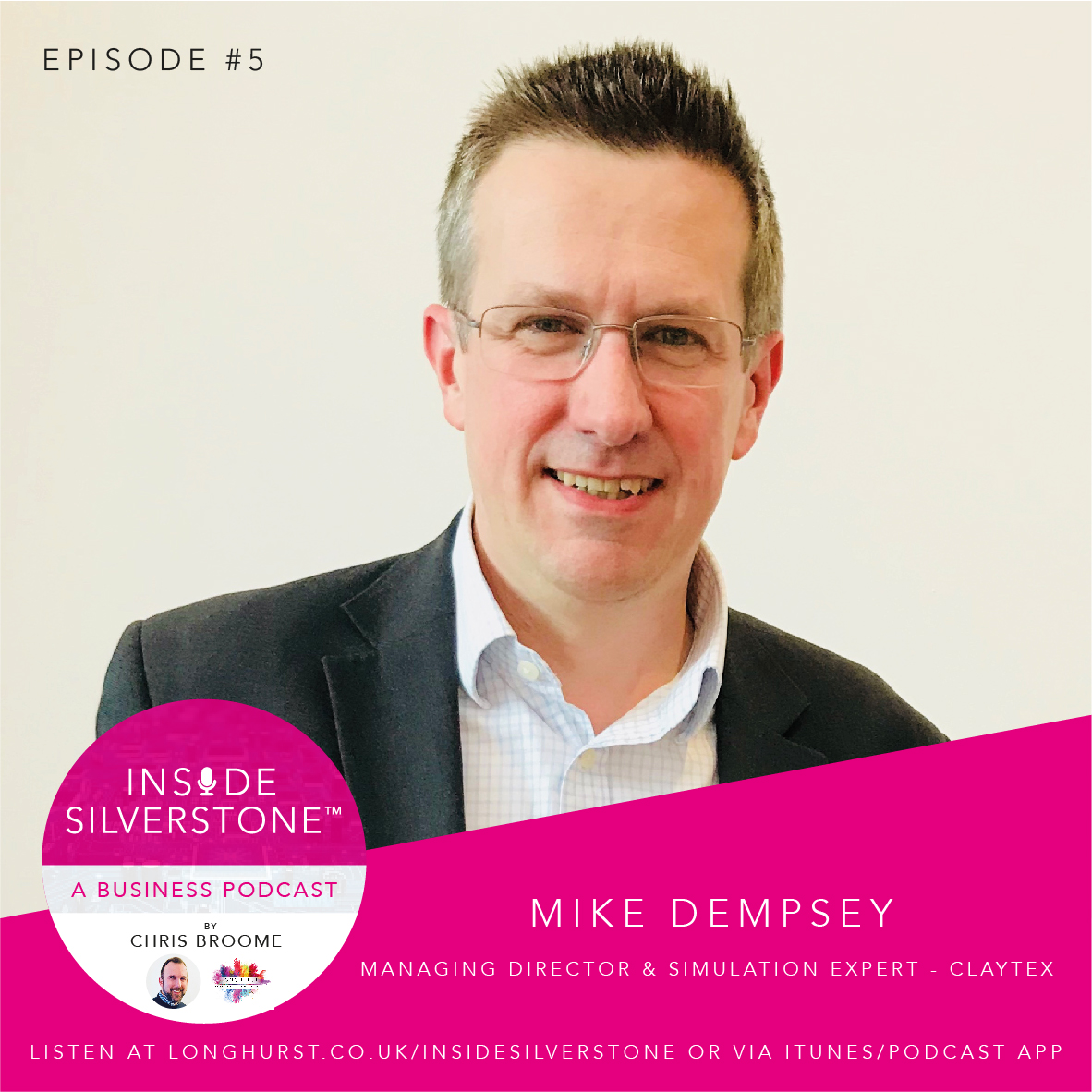 Mike Dempsey, MD & Simulation Expert, at Claytex
