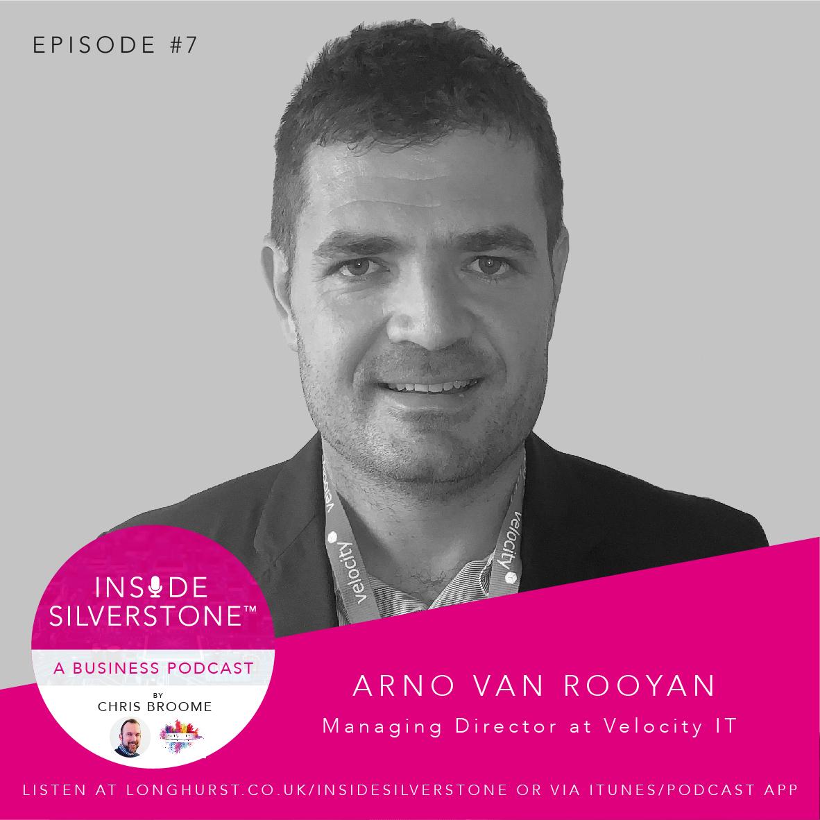 Arno van Rooyen, Managing Director of Velocity IT