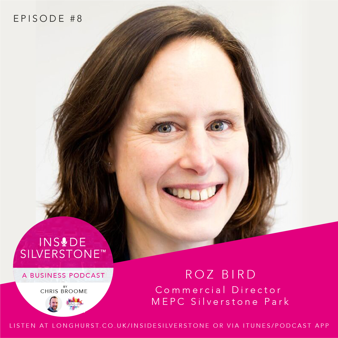 Roz Bird, Commercial Director of MEPC Silverstone Park, and Chair of the Silverstone Technology Cluster