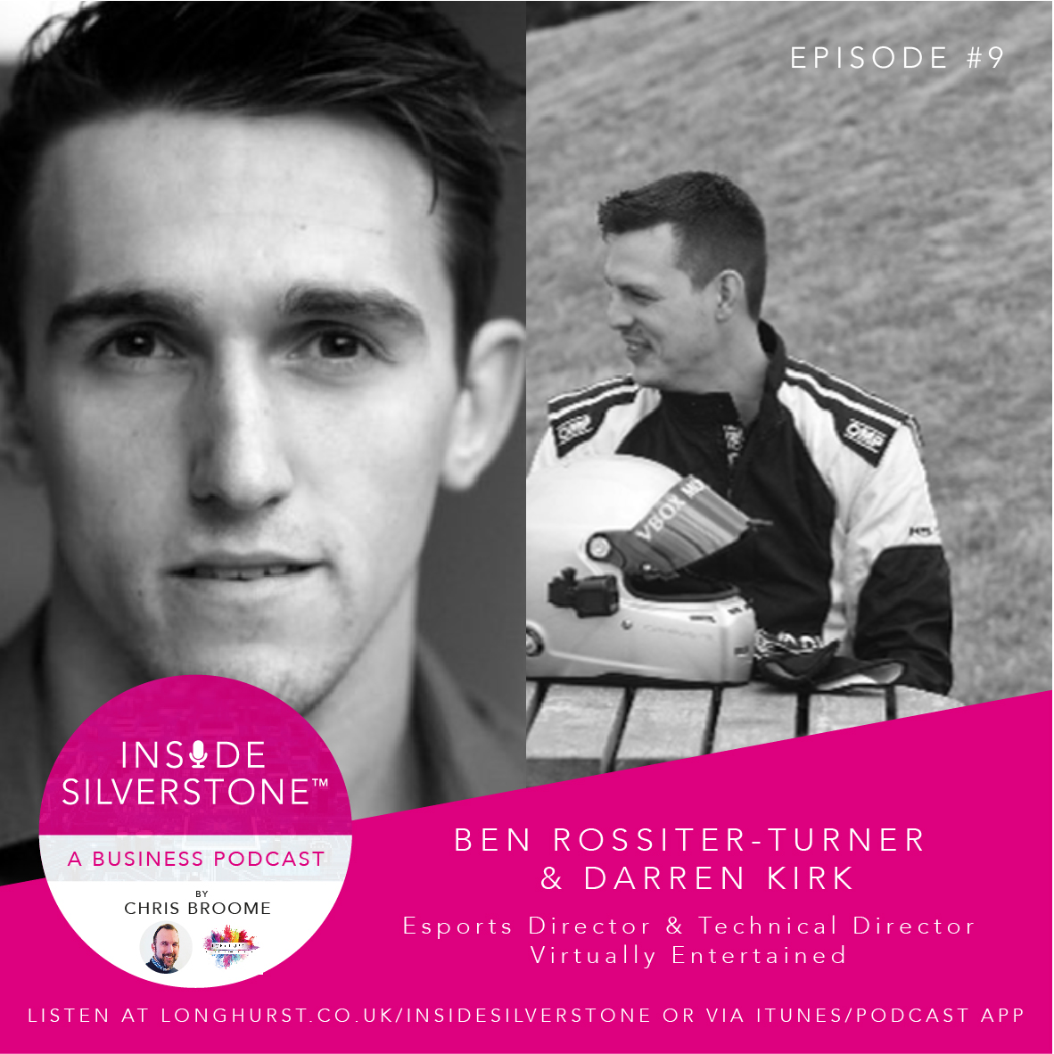 Ben Rossiter-Turner and Darren Kirk, from Virtually Entertained