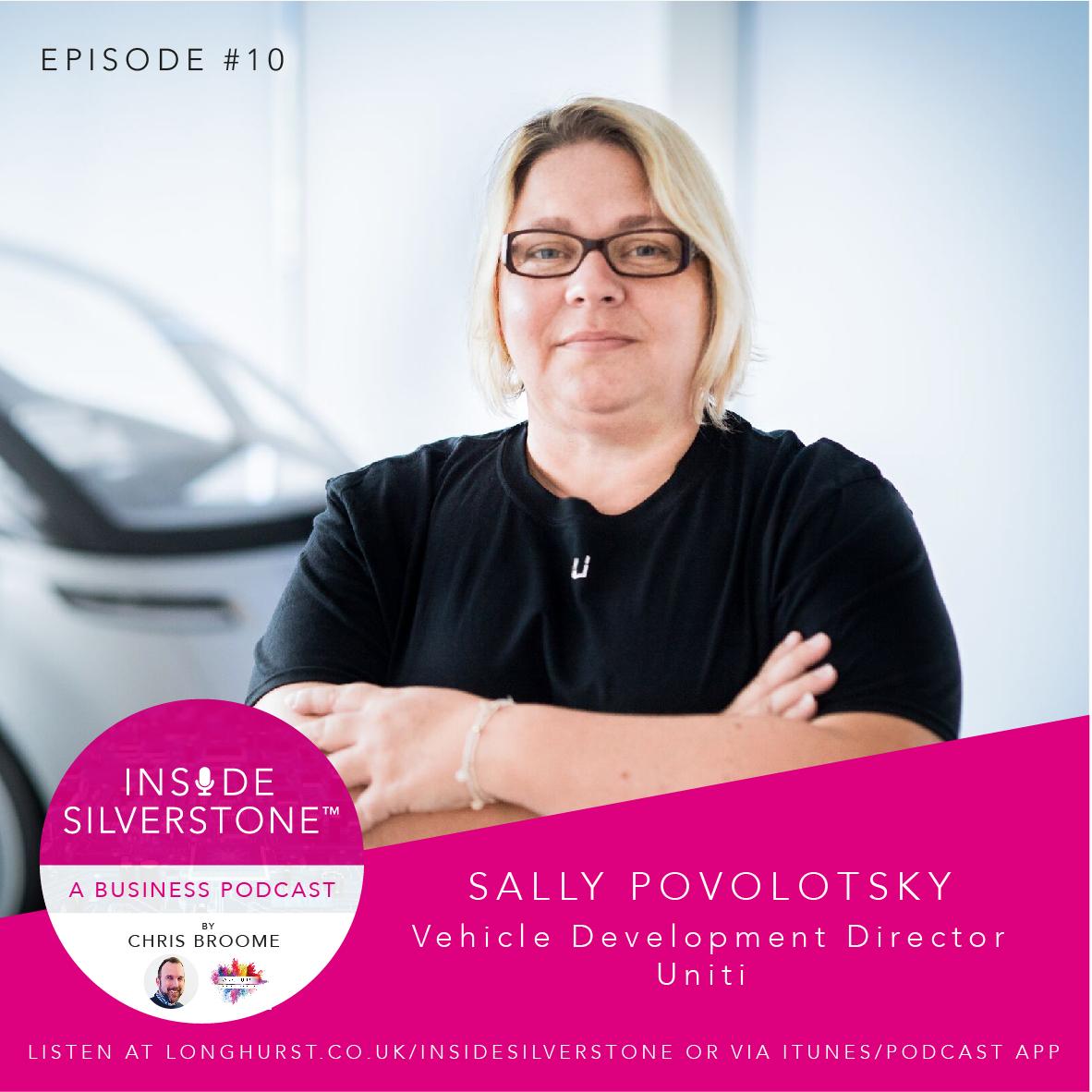 Sally Povolotsky - Vehicle Development Director at Uniti