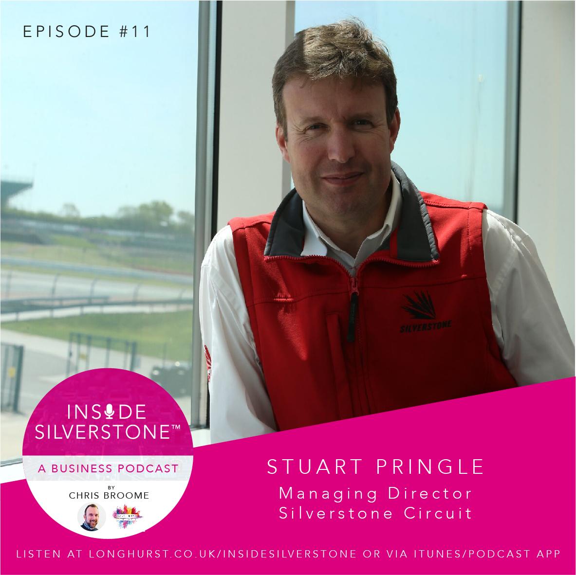 Stuart Pringle, Managing Director, Silverstone Circuit