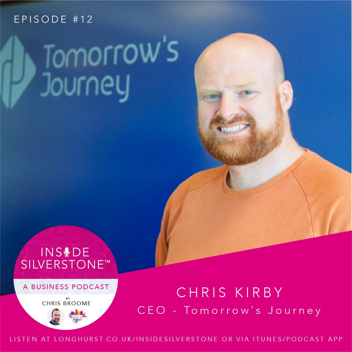 Chris Kirby, CEO of Tomorrow's Journey