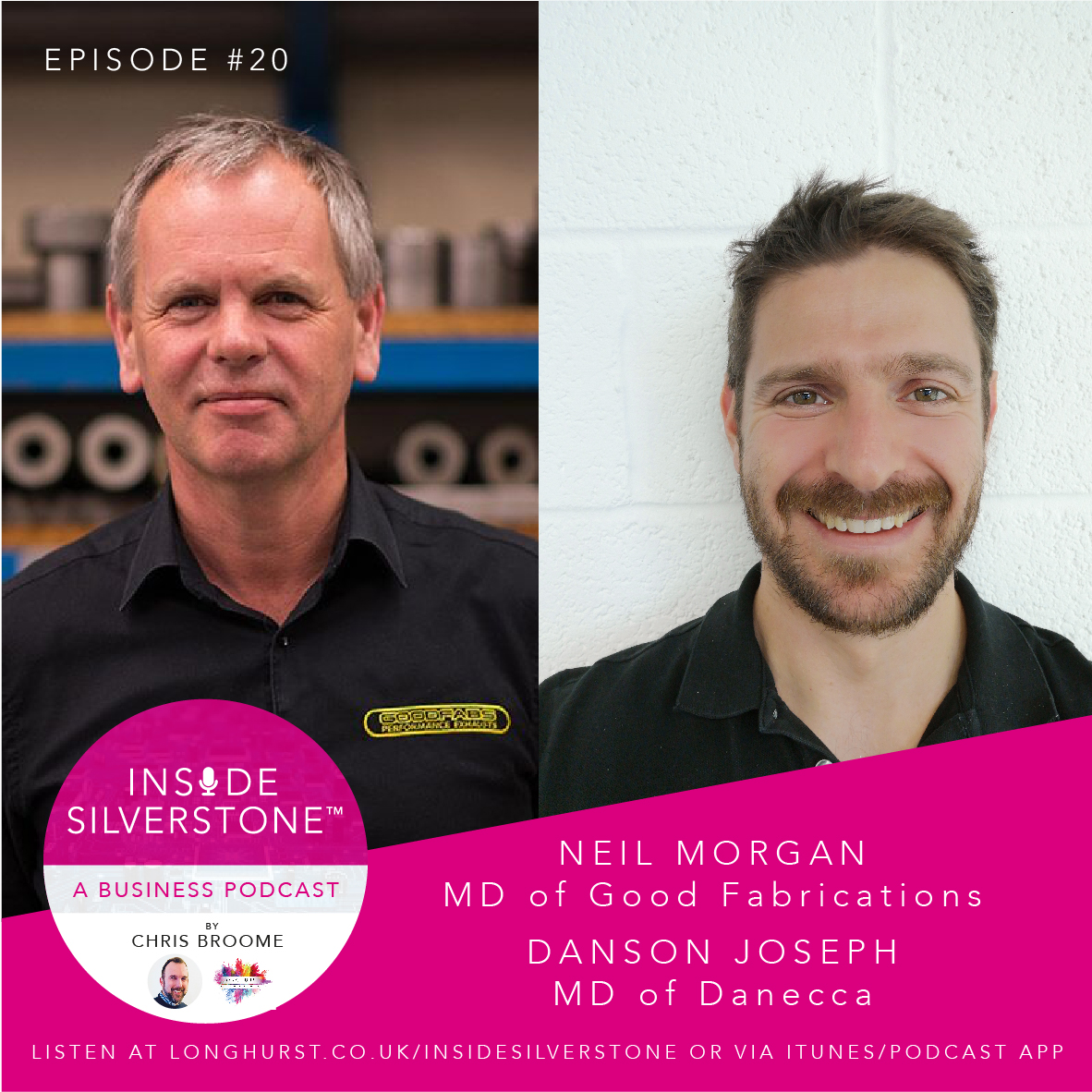 Neil Morgan - MD of Good Fabrications & Danson Joseph - MD of Danecca
