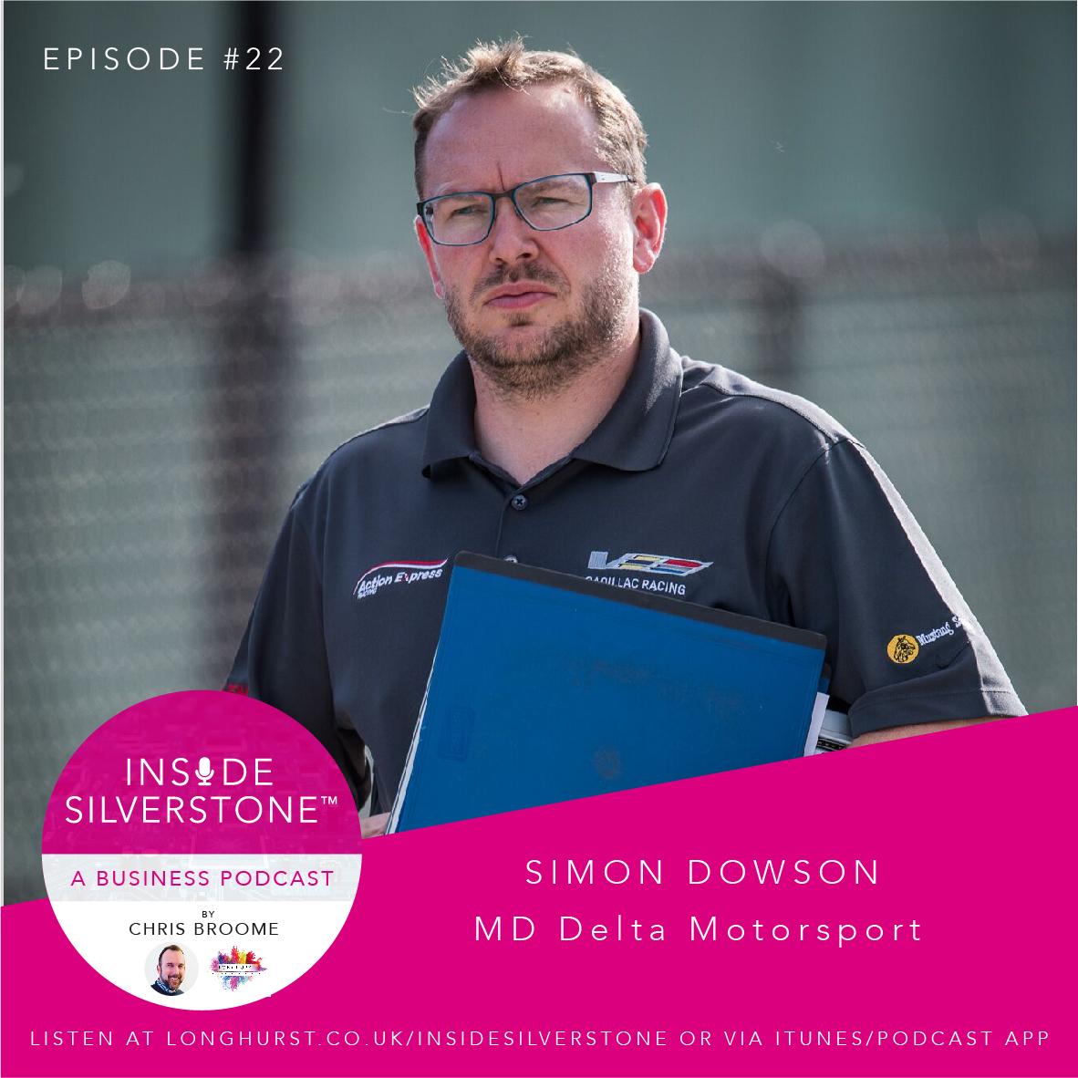 Simon Dowson , MD of Delta Motorsport