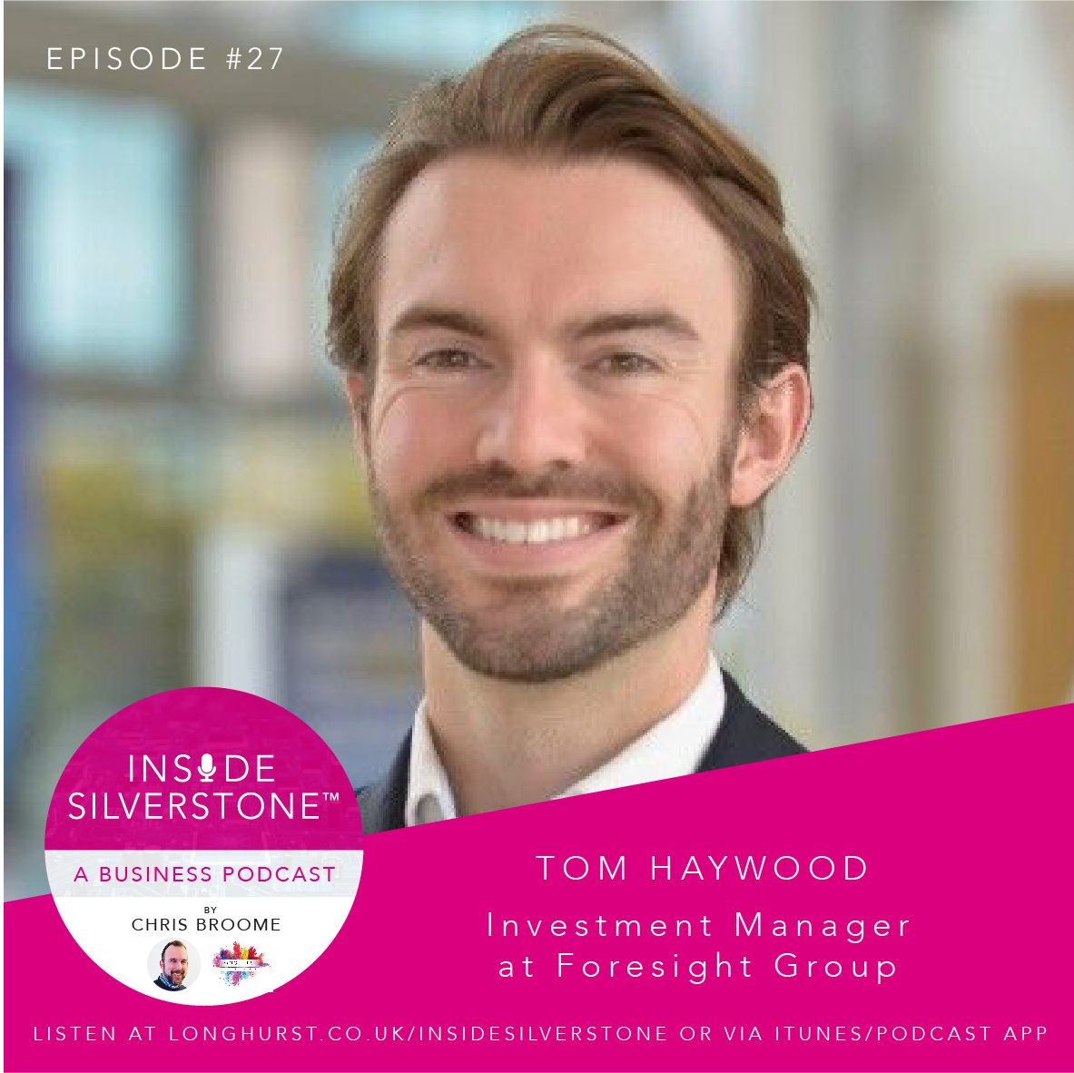 Tom Haywood, Investment Manager at Foresight Group