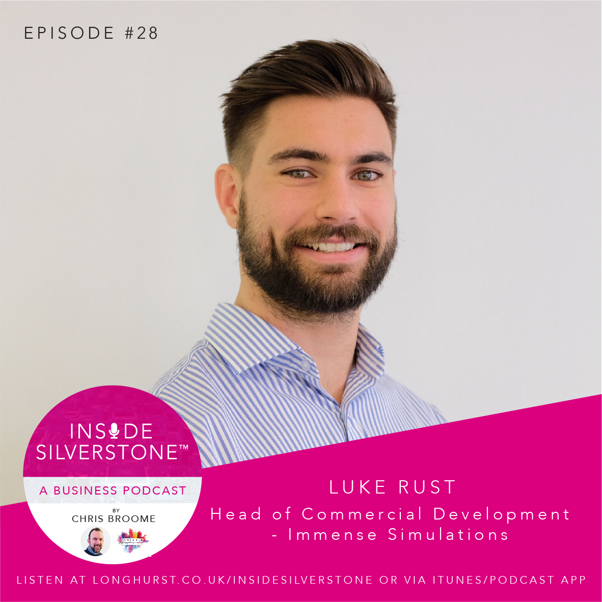 Luke Rust, Head of Commercial Development at Immense Simulations