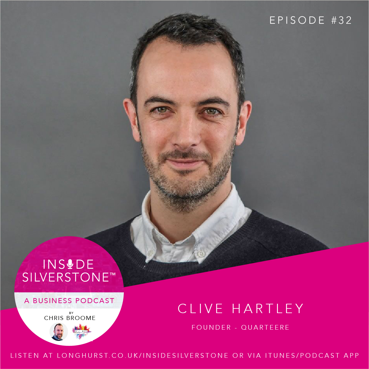Clive Hartley - Founder of Quarteere