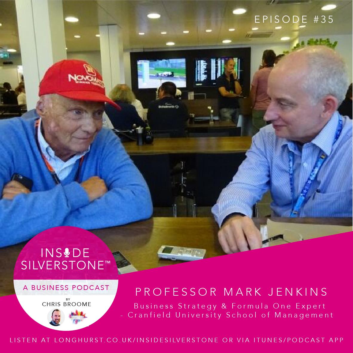 Professor Mark Jenkins - Business Strategy & Formula One Expert - Cranfield University School of Management