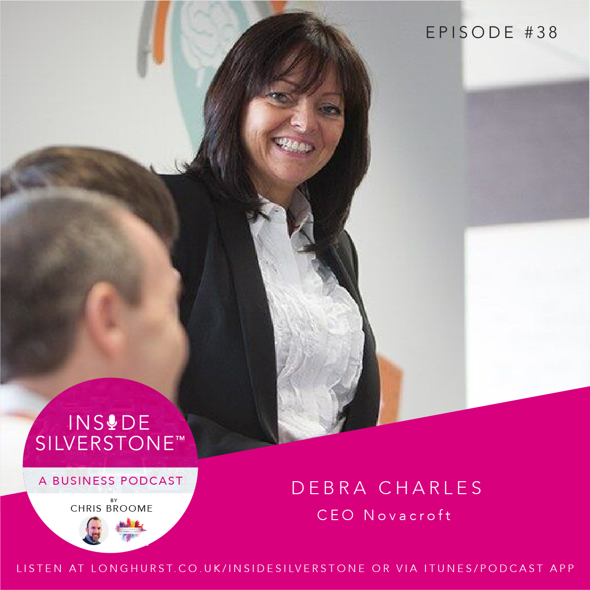 Debra Charles, CEO Novacroft, and former Westinghouse and Apple