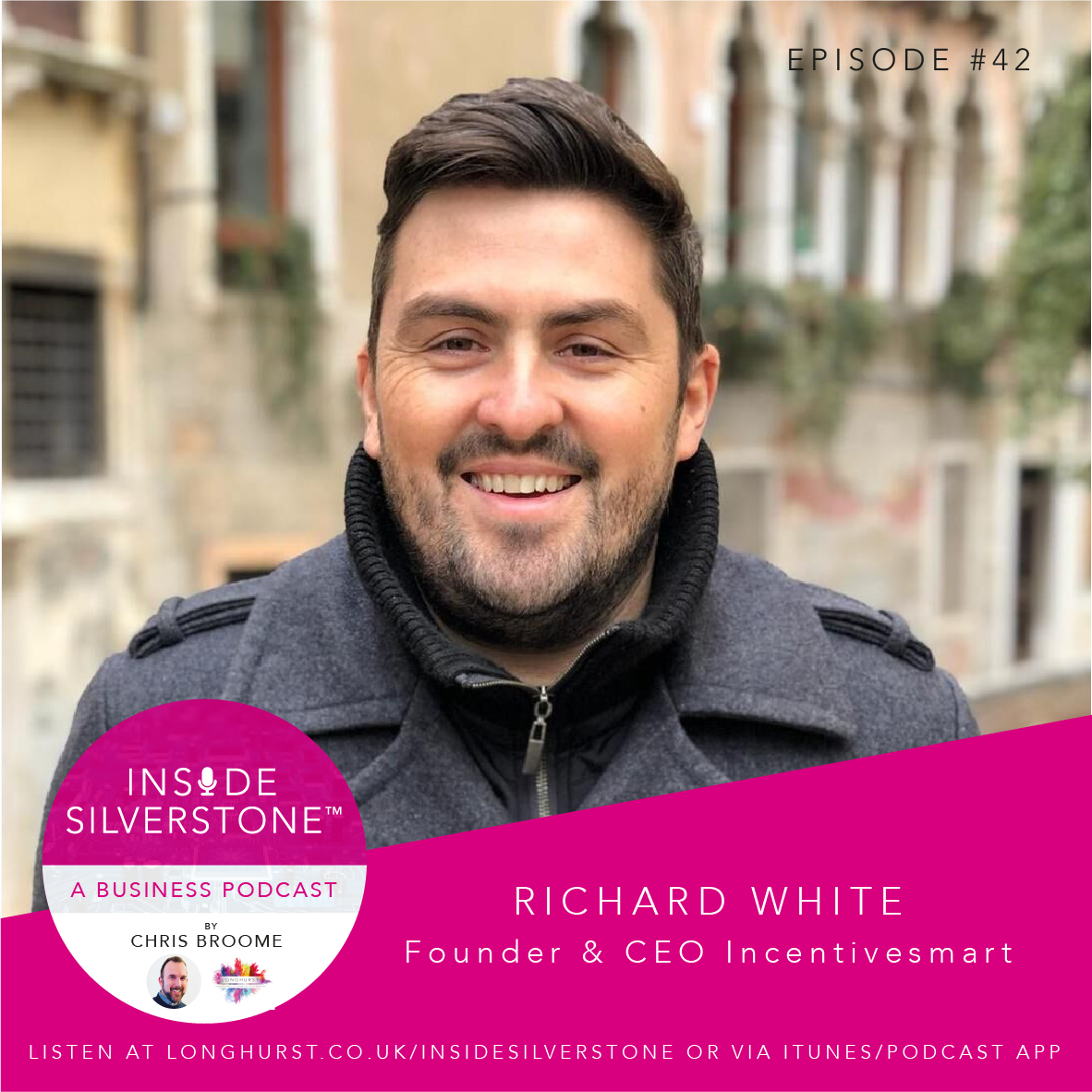 Richard White, CEO of tech business Incentivesmart