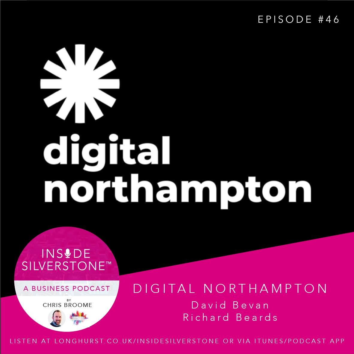 David Bevan and Richard Beards from Digital Northampton