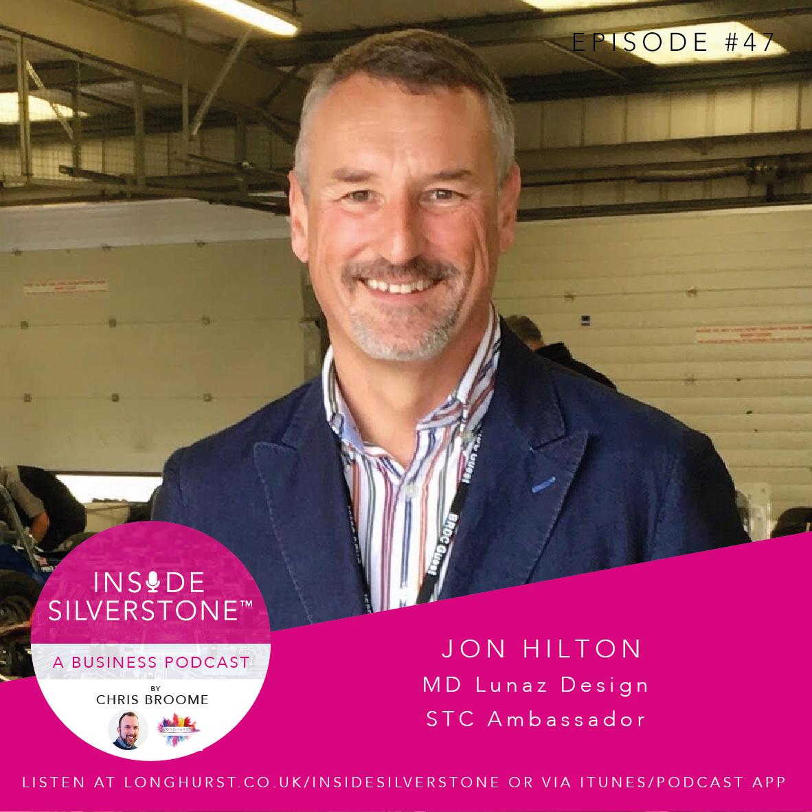 Jon Hilton, MD of Lunaz Design & STC Ambassador
