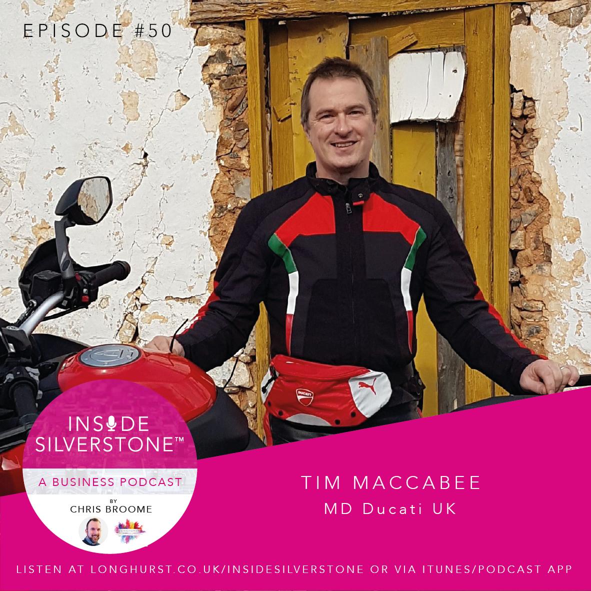 Tim Maccabee, Managing Director of Ducati UK
