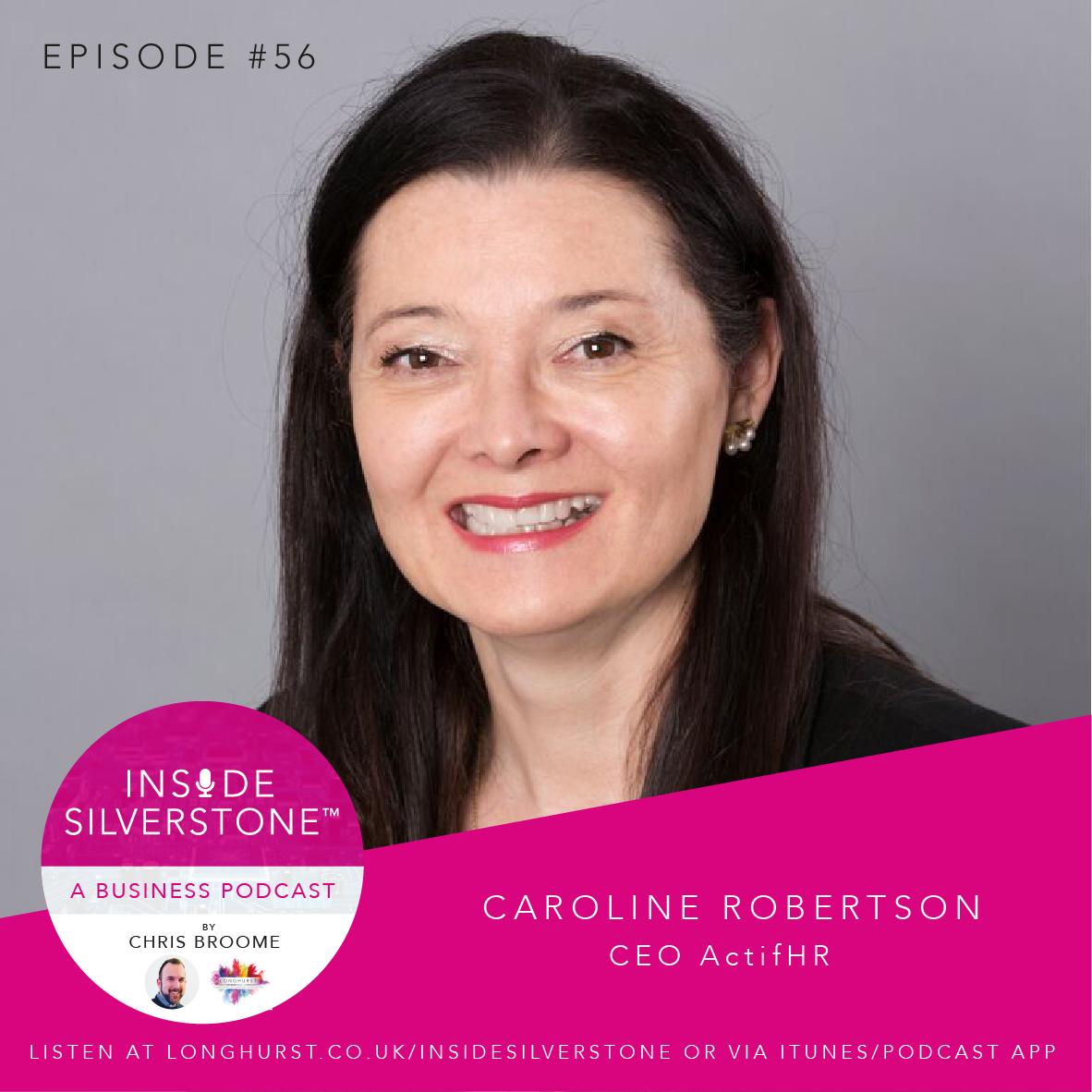Caroline Robertson, CEO of ActifHR
