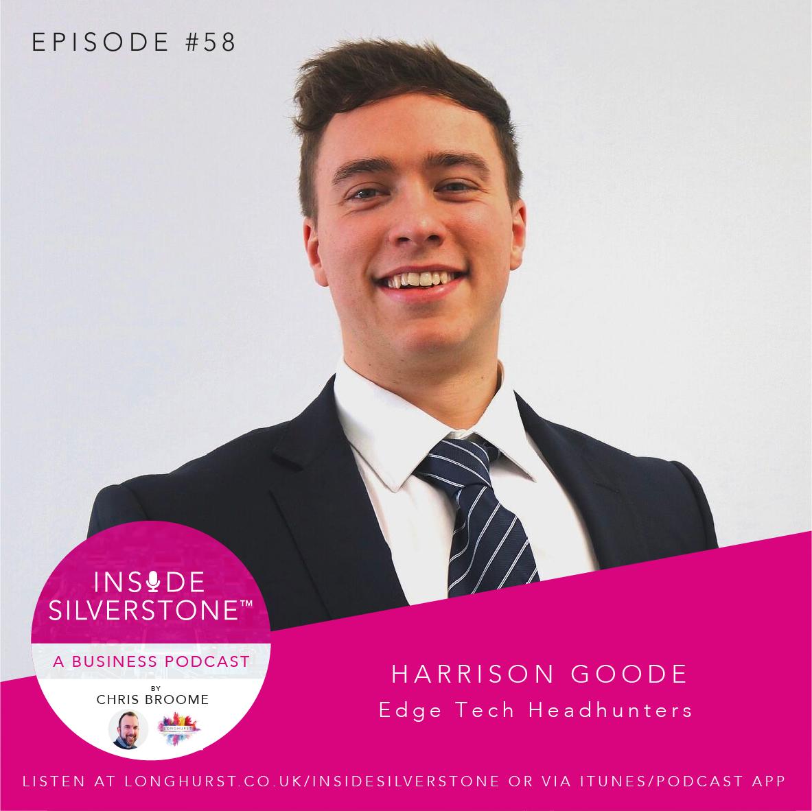 Harrison Goode of Edge Tech Headhunters
