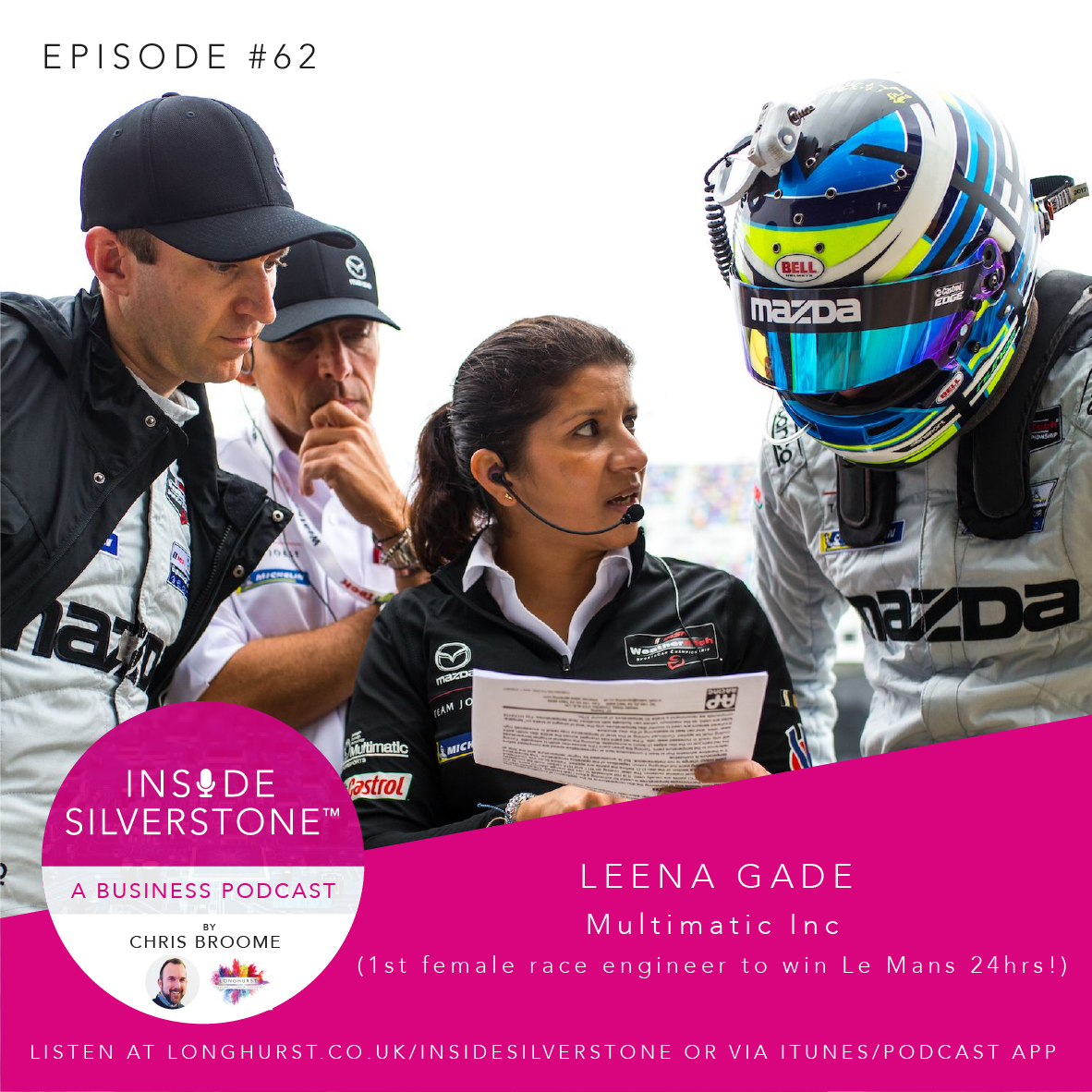 Leena Gade - Multimatic Inc & the 1st Female Race Engineer to win Le Mans 24hr