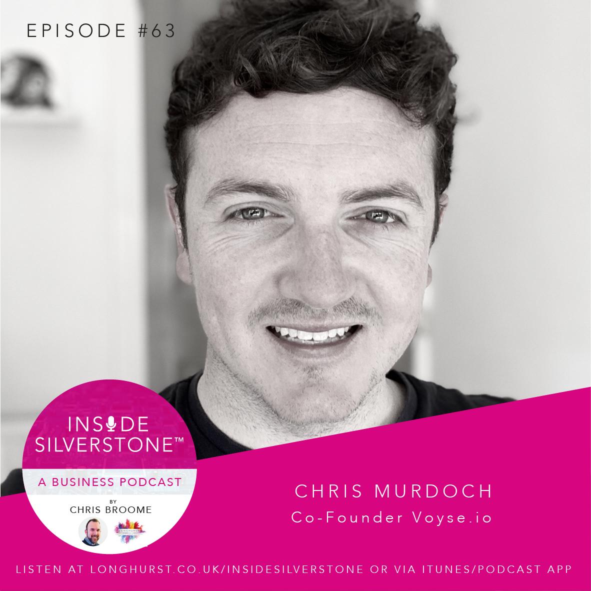 Chris Murdoch, tech entrepreneur and co-founder of Voyse.io