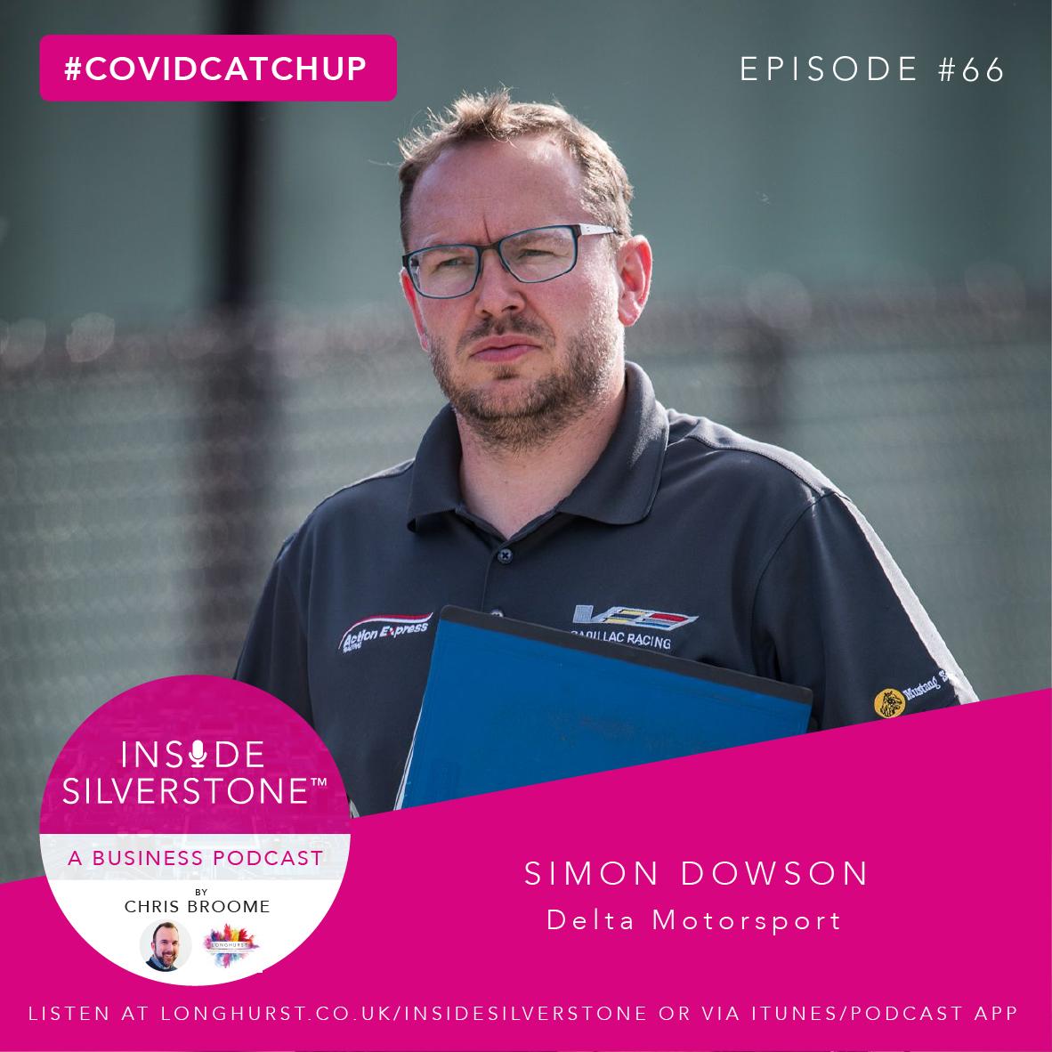 Simon Dowson of Delta Motorsport