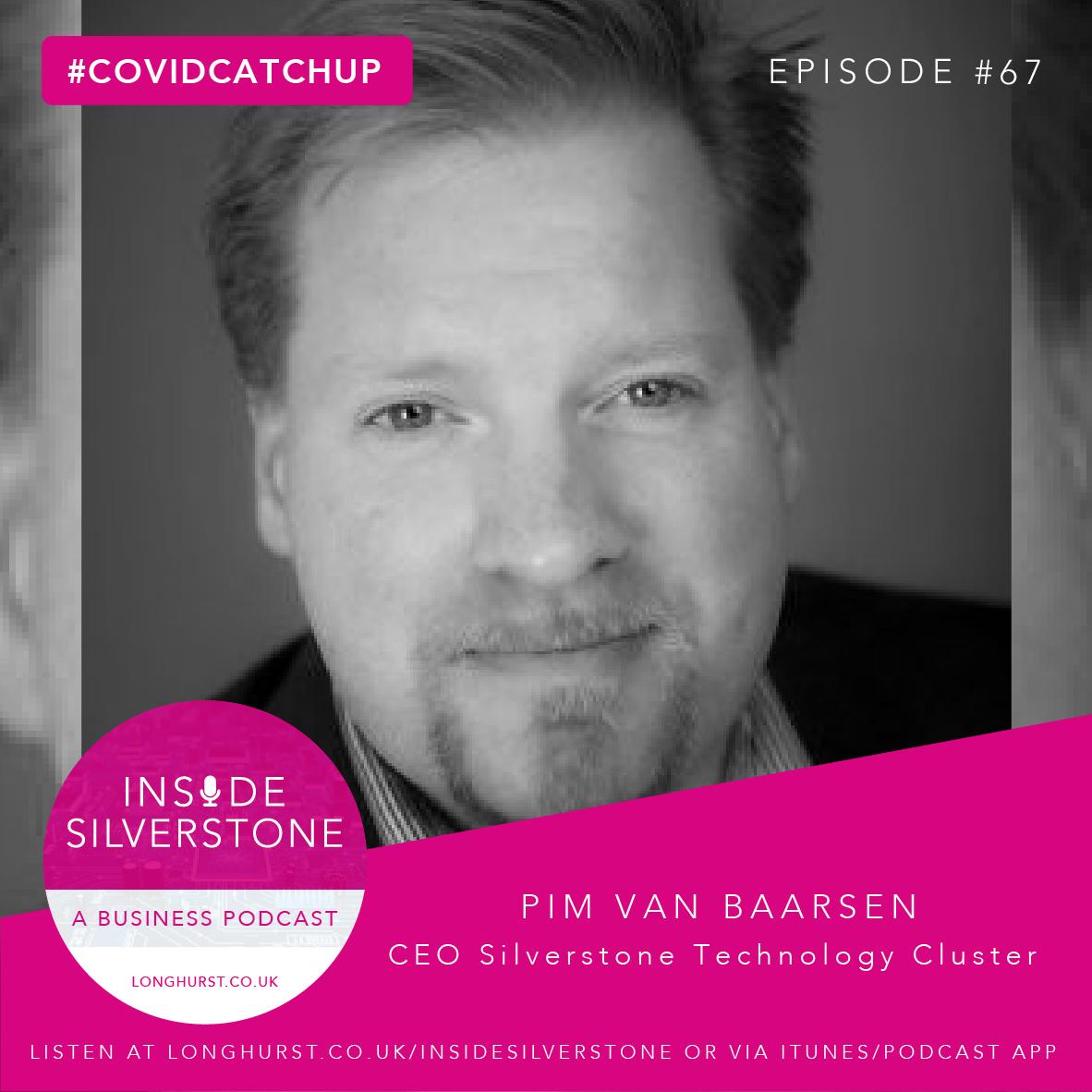 Pim van Baarsen from the Silverstone Technology Cluster